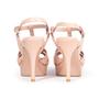 Authentic Second Hand Yves Saint Laurent Croc-Embossed Tribute Sandals (PSS-A12-00035) - Thumbnail 2