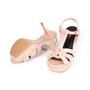 Authentic Second Hand Yves Saint Laurent Croc-Embossed Tribute Sandals (PSS-A12-00035) - Thumbnail 4