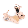 Authentic Second Hand Yves Saint Laurent Croc-Embossed Tribute Sandals (PSS-A12-00035) - Thumbnail 5