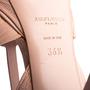 Authentic Second Hand Yves Saint Laurent Croc-Embossed Tribute Sandals (PSS-A12-00035) - Thumbnail 6