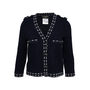 Authentic Second Hand Chanel Pearl Stud Knit Jacket (PSS-990-00365) - Thumbnail 0