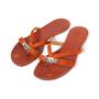 Authentic Second Hand Hermès Corfou Flats (PSS-515-00388) - Thumbnail 3
