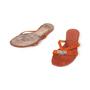 Authentic Second Hand Hermès Corfou Flats (PSS-515-00388) - Thumbnail 4