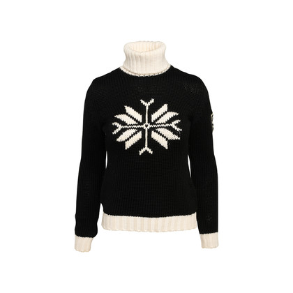 Authentic Second Hand Chanel Fall Winter 2008 Snowflake Sweater (PSS-515-00417)