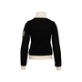 Authentic Second Hand Chanel Fall Winter 2008 Snowflake Sweater (PSS-515-00417) - Thumbnail 1