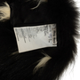 Authentic Second Hand Miu Miu Wool Belted Coat With Raccoon Fur (PSS-515-00400) - Thumbnail 4