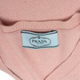 Authentic Second Hand Prada V-Neck Cashmere Sweater (PSS-515-00422) - Thumbnail 2