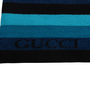 Authentic Second Hand Gucci Knit Striped Scarf (PSS-515-00432) - Thumbnail 3