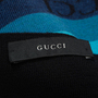 Authentic Second Hand Gucci Knit Striped Scarf (PSS-515-00432) - Thumbnail 4