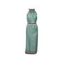 Authentic Second Hand Louis Vuitton Check Print Silk Tie Dress (PSS-990-00389) - Thumbnail 0