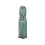 Authentic Second Hand Louis Vuitton Check Print Silk Tie Dress (PSS-990-00389) - Thumbnail 1