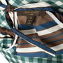 Authentic Second Hand Louis Vuitton Check Print Silk Tie Dress (PSS-990-00389) - Thumbnail 2