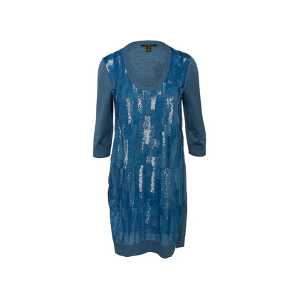 Authentic Second Hand Louis Vuitton Sequin Embellished Wool Blend Tunic (PSS-990-00390)