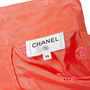 Authentic Second Hand Chanel Logo Embroidered Silk Blouse (PSS-990-00393) - Thumbnail 2