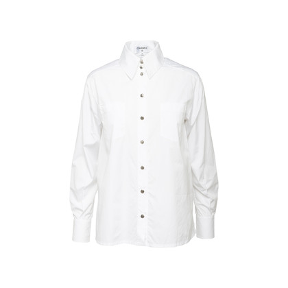 Authentic Second Hand Chanel Button Front Shirt (PSS-990-00394)