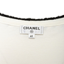 Authentic Second Hand Chanel Braided Trim Sleeveless Shirt (PSS-990-00395) - Thumbnail 2