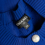 Authentic Second Hand Chanel La Pausa Pearl Button Cardigan (PSS-990-00399) - Thumbnail 2