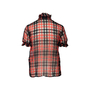 Authentic Second Hand Chanel Sheer Plaid Blouse  (PSS-990-00400) - Thumbnail 1