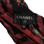 Authentic Second Hand Chanel Sheer Plaid Blouse  (PSS-990-00400) - Thumbnail 2