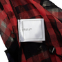 Authentic Second Hand Chanel Sheer Plaid Blouse  (PSS-990-00400) - Thumbnail 3