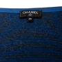 Authentic Second Hand Chanel Camellia Appliqué Striped Tank (PSS-990-00401) - Thumbnail 2