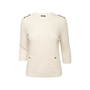 Authentic Second Hand Chanel Anchor Button Sweater (PSS-990-00404) - Thumbnail 0
