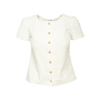 Authentic Second Hand Chanel 15A Salzburg Top (PSS-990-00406) - Thumbnail 0