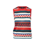 Authentic Second Hand Chanel Contrast Stripe Knit Top (PSS-990-00407) - Thumbnail 0
