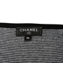 Authentic Second Hand Chanel Camellia Appliqué Striped Tank (PSS-990-00408) - Thumbnail 2