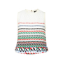 Authentic Second Hand Chanel Striped Woven Airlines Top (PSS-990-00409) - Thumbnail 0