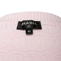 Authentic Second Hand Chanel Logo Short Sleeve Cardigan (PSS-990-00412) - Thumbnail 2
