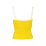 Authentic Second Hand Chanel Gradient Logo Knit Tank (PSS-990-00402) - Thumbnail 1