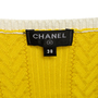Authentic Second Hand Chanel Gradient Logo Knit Tank (PSS-990-00402) - Thumbnail 3