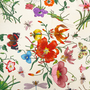 Authentic Second Hand Gucci Floral Scarf (PSS-052-00040) - Thumbnail 5