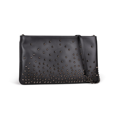 Authentic Second Hand Christian Louboutin Loubiposh Degrade Clutch (PSS-875-00028)