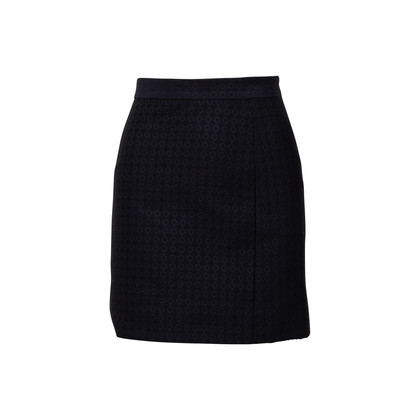 Authentic Second Hand Céline Embroidered Pattern Skirt (PSS-004-00127)