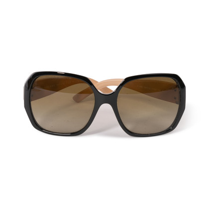 Authentic Second Hand Burberry Check Logo Sunglasses (PSS-609-00049)