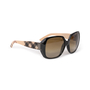 Authentic Second Hand Burberry Check Logo Sunglasses (PSS-609-00049) - Thumbnail 2