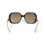 Authentic Second Hand Burberry Check Logo Sunglasses (PSS-609-00049) - Thumbnail 4