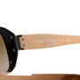 Authentic Second Hand Burberry Check Logo Sunglasses (PSS-609-00049) - Thumbnail 6