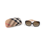 Authentic Second Hand Burberry Check Logo Sunglasses (PSS-609-00049) - Thumbnail 7