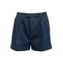 Authentic Second Hand Louis Vuitton Pinstripe Denim Shorts (PSS-990-00421) - Thumbnail 0