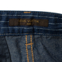 Authentic Second Hand Louis Vuitton Pinstripe Denim Shorts (PSS-990-00421) - Thumbnail 2