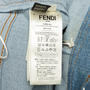Authentic Second Hand Fendi Monster Eye Boyfriend Jeans (PSS-990-00427) - Thumbnail 4
