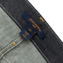 Authentic Second Hand Louis Vuitton Indigo Monogram Patch Jeans (PSS-990-00431) - Thumbnail 3