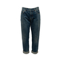 Authentic Second Hand Christian Dior Logo Boyfriend Cropped Jeans (PSS-990-00432) - Thumbnail 0