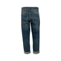 Authentic Second Hand Christian Dior Logo Boyfriend Cropped Jeans (PSS-990-00432) - Thumbnail 1