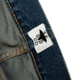 Authentic Second Hand Christian Dior Logo Boyfriend Cropped Jeans (PSS-990-00432) - Thumbnail 2