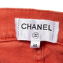 Authentic Second Hand Chanel Velcro Waist Jeans (PSS-990-00433) - Thumbnail 2