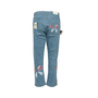 Authentic Second Hand Fendi Monster Eye Boyfriend Jeans (PSS-990-00427) - Thumbnail 1
